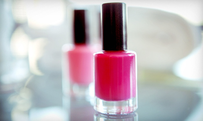 Vivi Nails - Mayview: One Solar Manicure or One Children's Pedicure at Vivi Nails (Up to 51% Off)