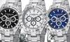 Stuhrling Original Men's Swiss Multifunction Robust Bracelet Watch: Stuhrling Original Men's Swiss Multifunction Robust Bracelet Watch. Multiple Styles Available.