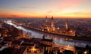 Notte a pochi passi dal Castello di Villafranca di Verona