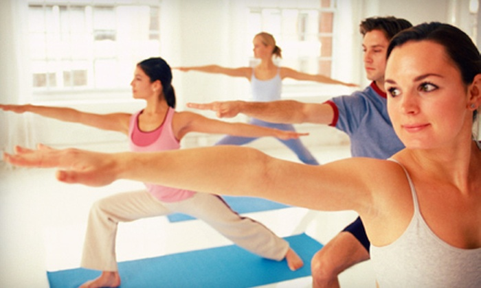 Heat Yoga - Multiple Locations: 10 or 20 Hot-Yoga Classes at Heat Yoga (Up to 81% Off)