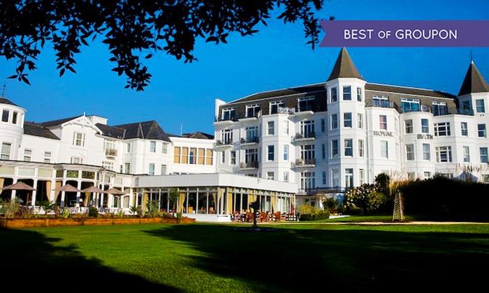 Groupon Royal Bath Hotel Bournemouth