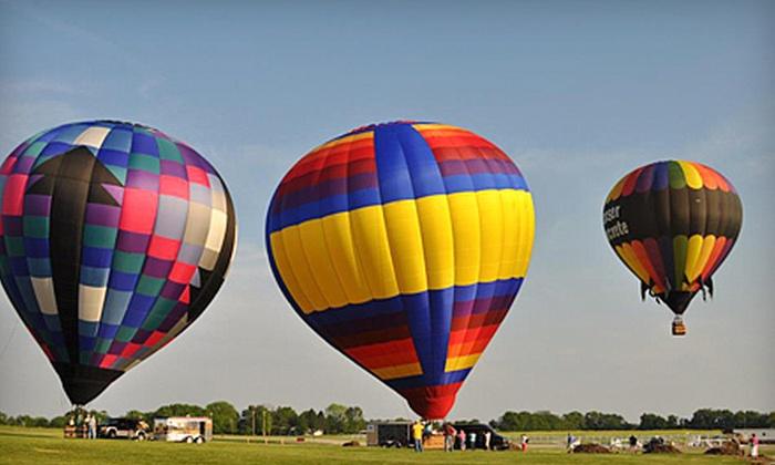 Gentle Breeze Hot Air Balloon Co. - Gentle Breeze Hot Air Balloon Co.: $139 for a Hot Air Balloon Ride from Gentle Breeze Hot Air Balloon Co. (Up to $279.99 Value)