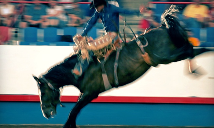 Cedar Park Pro Rodeo - H-E-B Center: Cedar Park Pro Rodeo at the Cedar Park Center on June 21, 22, or 23 (Up to 52% Off). Two Seating Options Available.