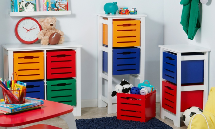 Cool Colors Kids Storage Collection: Cool Colors Kids Storage Collection ...