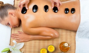 Live Health Center: 60-Minute Hot Stone Massage or Couples Massage at Live Health Center (Up to 65% Off)