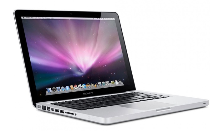 "Apple MacBook Pro 13.3"" Laptop with Intel Core Processor, 4GB RAM, and 500GB Hard Drive (Refurb..."