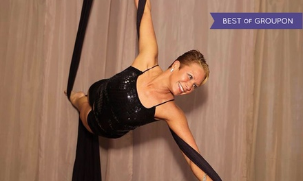 Up to 52% Off Aerial Silk Dance & Fitness Classes or Party