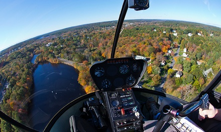 One-Hour Introductory Helicopter Flight Lesson for One or Two at Don's Flying Service Inc (50% Off)
