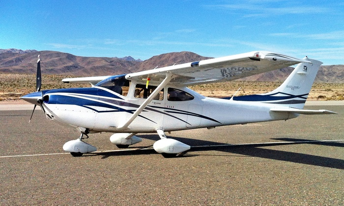Corsair Aviation - Lake Balboa: 35-, 50-, or 60-Minute Aerial Tour of Los Angeles for Up to Three People from Corsair Aviation (Up to 52% Off)
