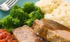 Beef and Brandy Restaurant and Lounge - The Loop: Casual American Breakfast, Lunch, or Dinner for 2 or 4 at Beef N' Brandy Restaurant and Lounge (Up to 43% Off)