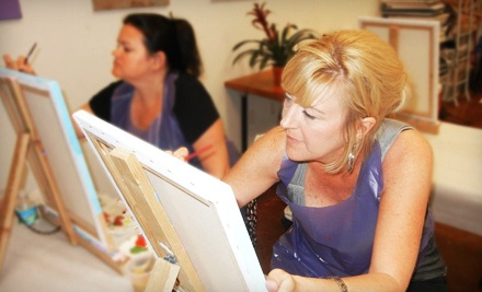 2.5-Hour BOYB Painting Class for One (a $40 value) - Sketch and Sip in Riverview