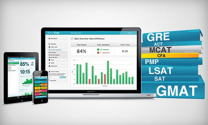 BenchPrep: $25 for a Test-Prep Course ($149.99 Value). GRE, GMAT, SAT, LSAT and More Courses Available from BenchPrep