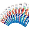 12-Pack Aim Massage Pro Toothbrushes