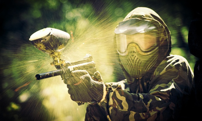 Operation Paintball - Graham: Paintball for Two or Four at Operation Paintball (Up to 55% Off)