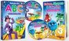 Rock 'N Learn Preschool Board Book And Video Set: Rock 'N Learn Preschool Board Book And Video Set