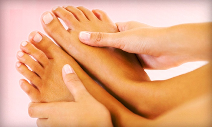 Vera Medi-Spa and Salon - Lakeview: OPI Mani-Pedi with Optional 30-Minute Relaxation Massage at Vera Medi-Spa and Salon (Up to 59% Off)