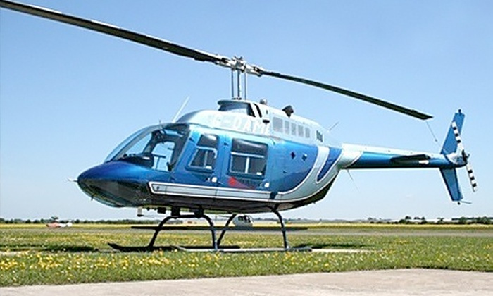 Heli Air Head Office - Heli Air: Helicopter Pleasure Flight Over Stratford-Upon-Avon For One (£39), Two (£78) or Four (£156) from Heli Air (66% Off)