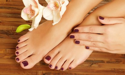 Gel Manicure or Pedicure or Both at Selfies Beauty (Up to 60% Off)