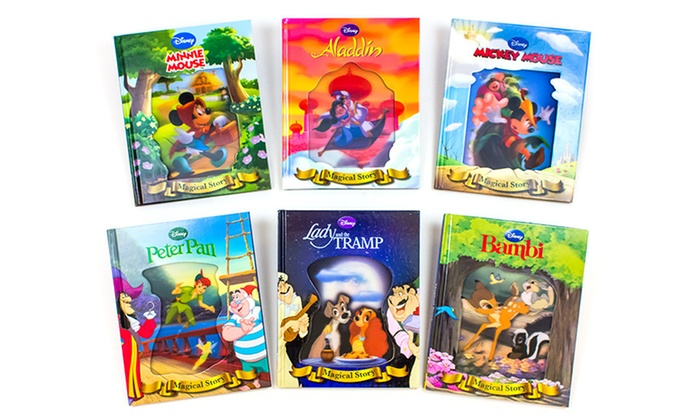 Disney Lenticular 6-Storybook Set: Disney Lenticular 6-Storybook Set