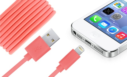 Urge Basics Apple-Certified 3.5 Ft. or 6.5 Ft. Charge/Sync Lightning Cables from $9.99–$11.99