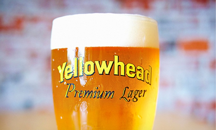 Yellowhead Brewery - Downtown: Brewery Tour and a 19-Ounce Pint of Lager for Two at Yellowhead Brewery (Half Off). 12 Dates Available.