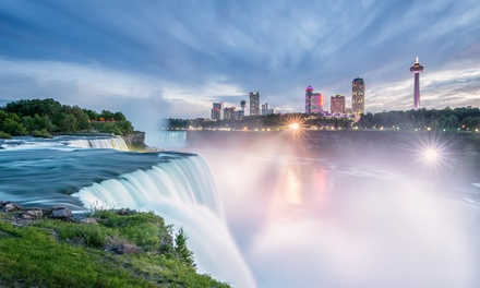Stay with Couples or Family Package at Embassy Suites by Hilton Niagara Falls - Fallsview, ON. Dates into December.