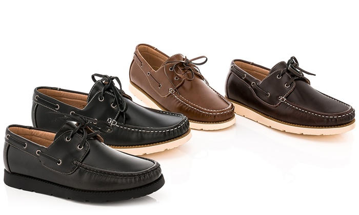 Franco Vanucci Brian-15 Men's Boat Shoes