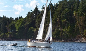 Sail Northwest: Three-Hour Cruise with Wine for Two or Four or Two-Hour BYOB Cruise for Six from Sail Northwest (Up to 50% Off)