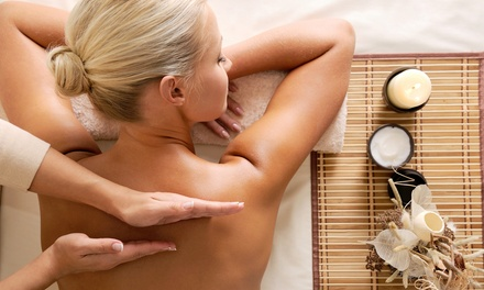Massage with Optional Facial and Mini Mani-Pedi at Summer Sun Spa (44% Off)
