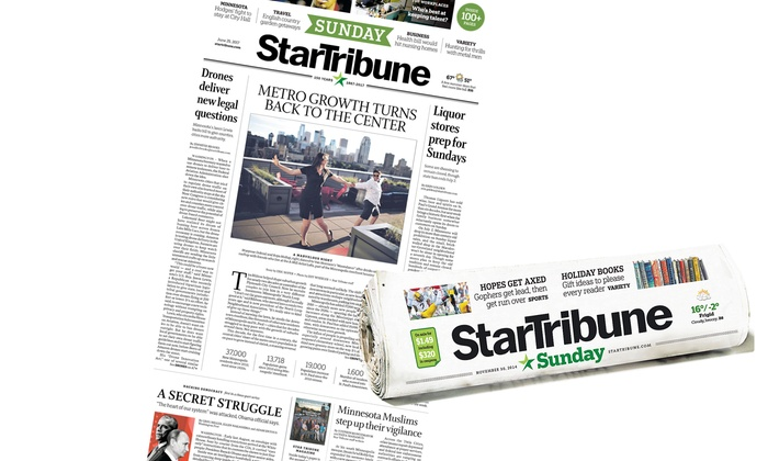 Back copies of the Star Tribune newspaper are available for purchase for 30 days after the date of publication as inventory is available. To ensure in-stock service to as many customers as possible, quantities are limited to five daily (Monday-Saturday) papers of the same date and two Sunday papers of .