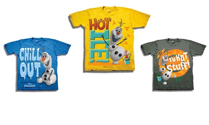 Kids' Frozen T-shirts: Kids' Frozen T-shirts