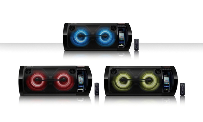Sony RDH-GTK33iP 420-Watt Hi-Fi Music System: $199.99 for a Sony RDH-GTK33iP Hi-Fi Music System for iPhone or iPod ($299.99 List Price). Free Shipping and Returns.