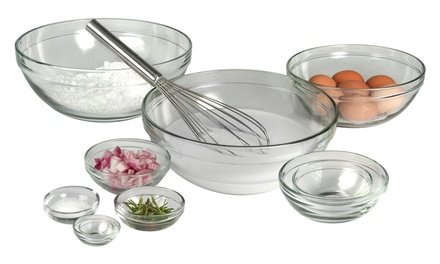 Artland 10-Piece Tempered-Glass Mixing-Bowl Set