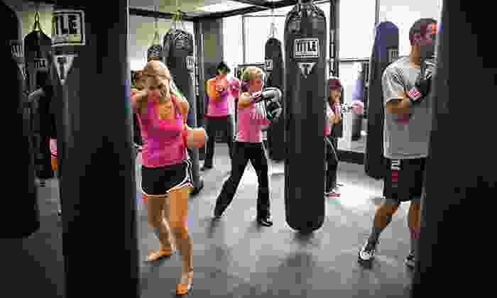Title Boxing Club Tulsa - South Tulsa: Two Weeks of Unlimited Boxing and Kickboxing Classes for One or Two at Title Boxing Club Tulsa (50% Off)
