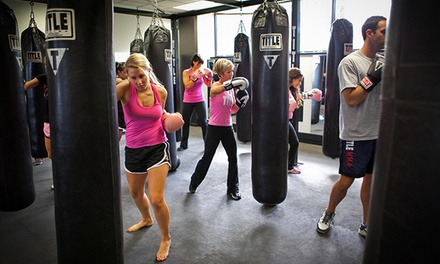 Two Weeks of Unlimited Boxing and Kickboxing Classes for One or Two at Title Boxing Club Tulsa (50% Off)