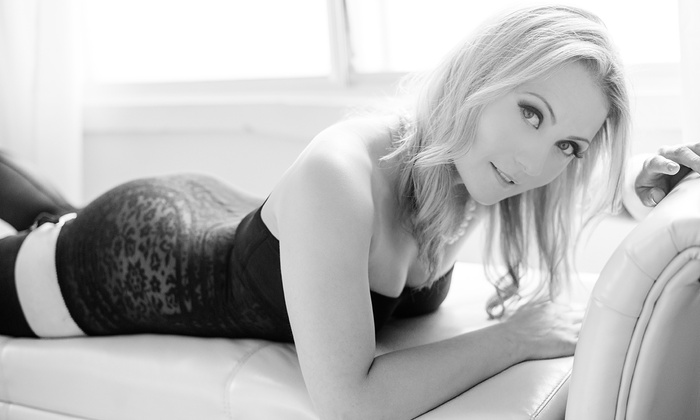 Kari Heese Photography - Mt. Pleasant: One-Hour Boudoir Photo Shoot with Print Credit and Option for Makeup at Kari Heese Photography (Up to 70% Off)