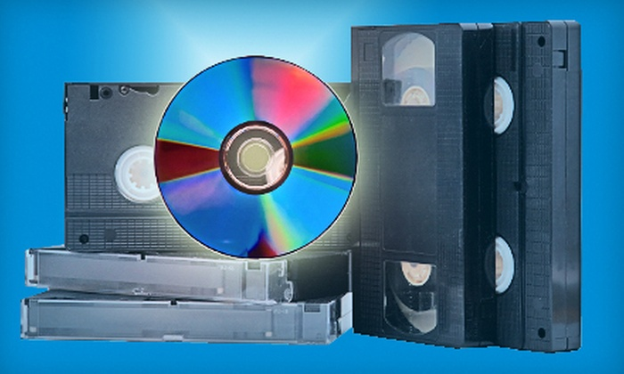 Video Kitchen - East Louisville: One, Two, or Five Video-to-DVD Conversions at Video Kitchen (Half Off)