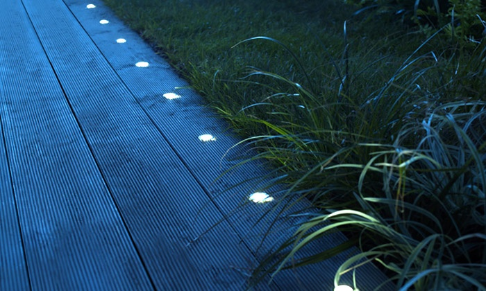 Spots encastrables led solaires groupon shopping - Spot led solaire encastrable exterieur ...