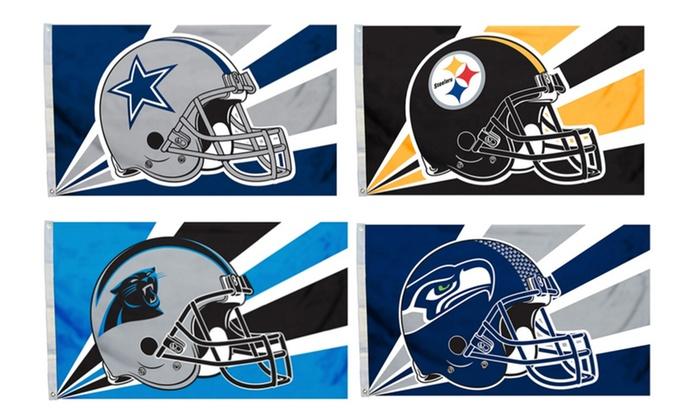 NFL Helmet Flag