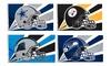 WAX WORKS, INC: NFL Helmet Flag