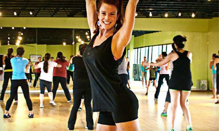 Moore Dancing - Brentwood: 5 or 10 Cardio Dance Classes at Moore Dancing (Up to 69% Off)