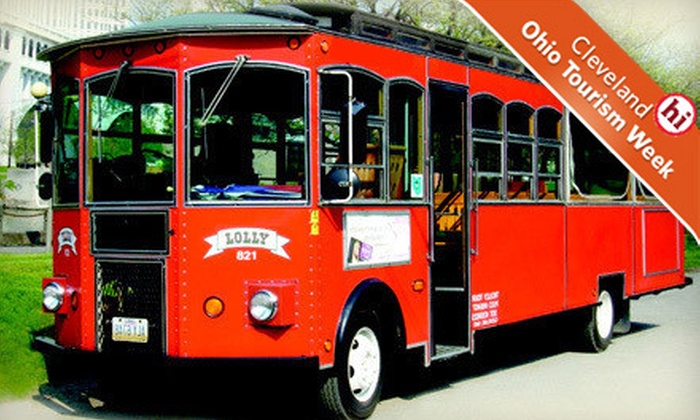 Trolley Tours of Cleveland - Ohio City: Two-Hour Trolley Tour of Cleveland for Two or Four from Trolley Tours of Cleveland (Up to Half Off)
