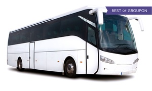 WoodburyBus.com: $27 for Roundtrip Bus Transportation to Woodbury Common Premium Outlets from WoodburyBus.com ($40 Value)