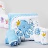 Spasilk Hooded Infant Towel and Washcloth Set (5-Piece)