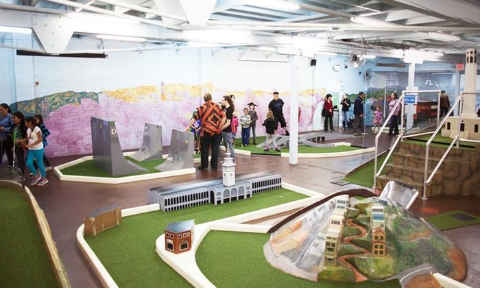 Subpar Miniature Golf - East End: Miniature Golf for Two, Four, or Six at Subpar Miniature Golf (Up to 56% Off)