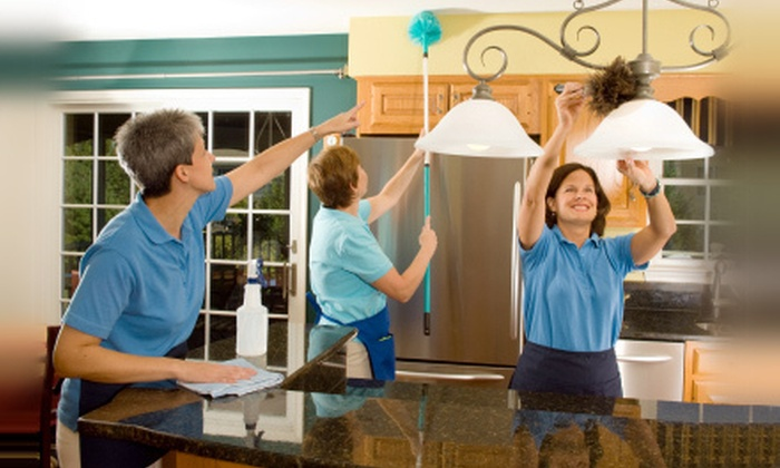 MaidPro - Salt Lake City: Two, Three, or Four Man-Hours of Housecleaning from MaidPro (Up to Half Off)