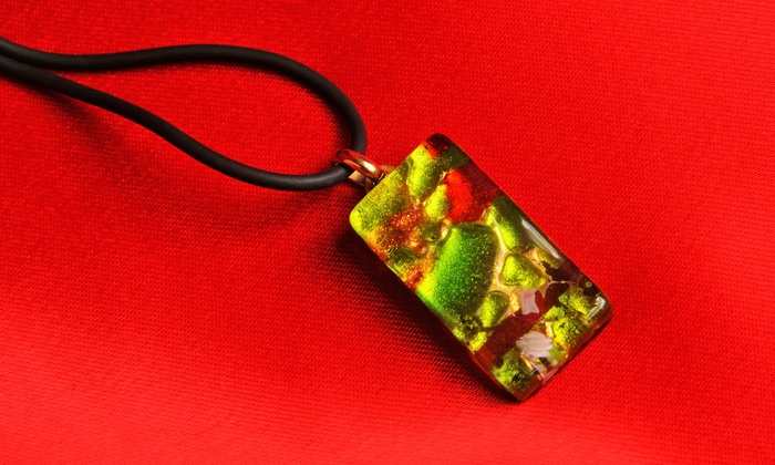 The Painted Pot - Saint Charles: $40 Worth of Glass Fusion Pendant-Making at The Painted Pot
