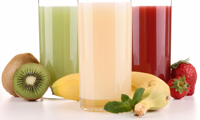 Just Juice It - Newark: $5.75 for $10 Worth of All-Natural Organic Juices and Smoothies at Just Juice It