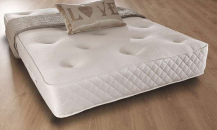Sarenne Memory Foam and Orthopaedic Bonnell Sprung Mattress