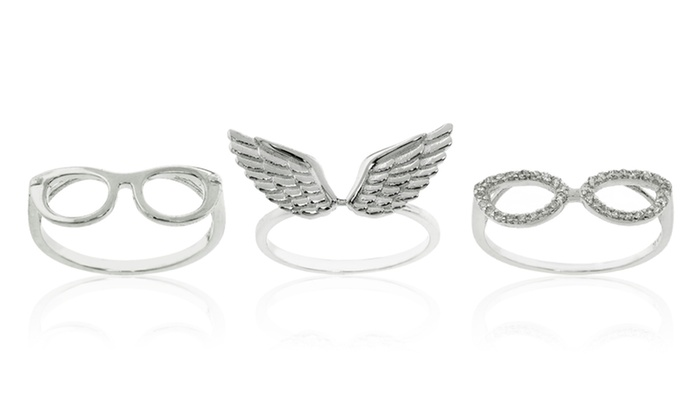 Sterling Silver Fashion Rings: Sterling Silver Fashion Rings. Multiple Designs Available. Free Returns.